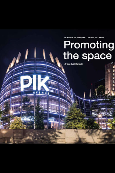"Philips Lighting ""Pioneers of Light"" : le centre commercial PIK Avenue, Jakarta"