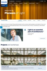 "Interview with architect Jonathan Groswasser for Philips Lighting's ""Pioneers of Light"""