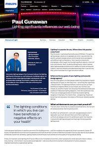 """Philips Lighting, """"Pioneers of Light"""": Paul Gunawan, Jakarta"""