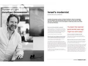 Interview avec l'architect du showroom BMW Mini pour «Luminous» magazine de Philips Lighting