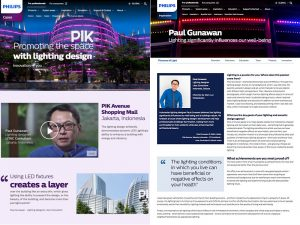 Paul Gunawan, le centre commercial PIK Avenue, Jakarta; coordination et traduction