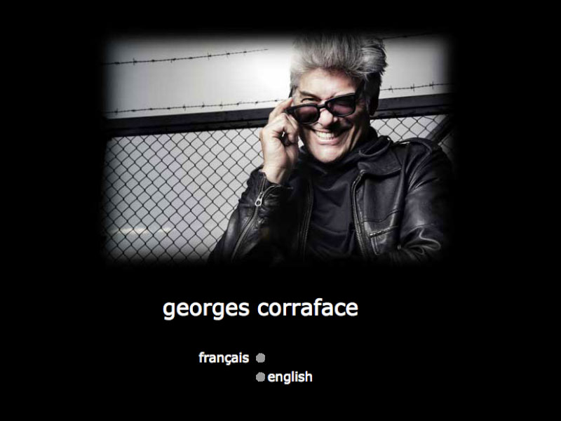Creation, evolution and up-dates in English and French for this internationally-reknowned actor's website.