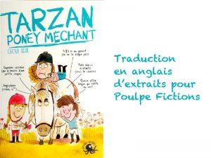 Traduction des 2 premiers chapitres pour Poulpe Fictions, qui fait partie du groupe Editions First / Grund / Edi 8